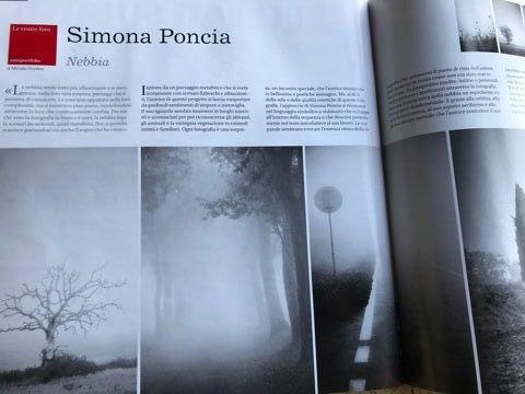"""PUBBLICAZIONE PROGETTO  NEBBIA SULLA RIVISTA """"IL FOTOGRAFO"""""""